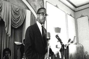 Malcom X (photo taken at a different occasion)