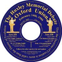 huxley-memorial-debate