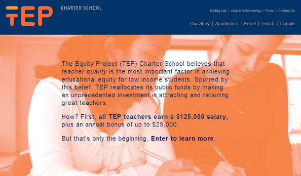 TEP charter school (the equity project)
