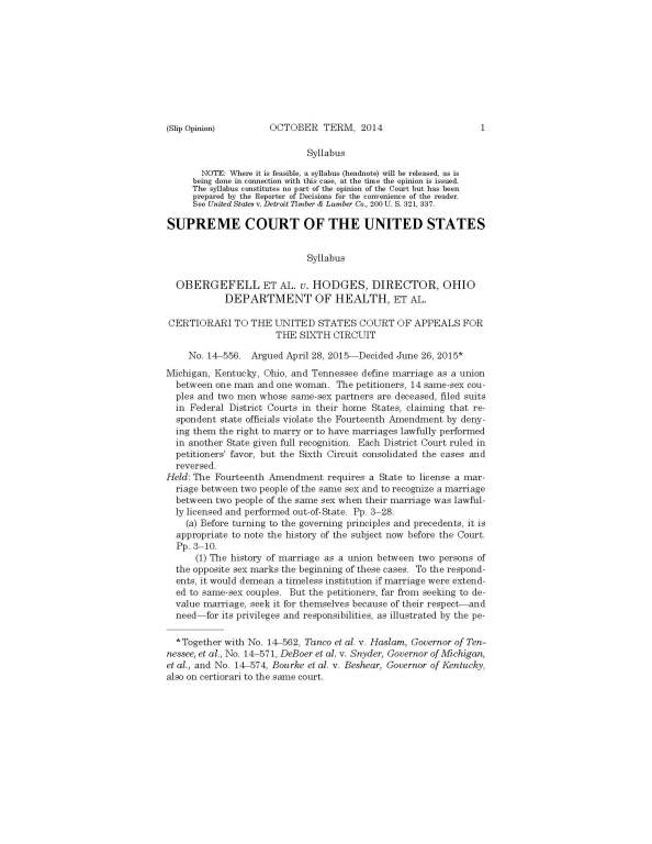2016-06-26 OBERGEFELL v HODGES, full text_Page_001