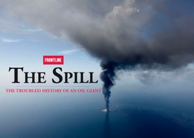"""FILE - This April 21, 2010 aerial photo taken in the Gulf of Mexico more than 50 miles southeast of Venice on Louisiana's tip shows the Deepwater Horizon oil rig burning. Retired Coast Guard Adm. Thad Allen, the federal government's point man on the disaster, said Sunday, Sept. 19, 2010, BP's well """"is effectively dead.""""  A permanent cement plug sealed BP's well nearly 2.5 miles below the sea floor in the Gulf of Mexico, five agonizing months after an explosion sank a drilling rig and led to the worst offshore oil spill in U.S. history. (AP Photo/Gerald Herbert, File)"""